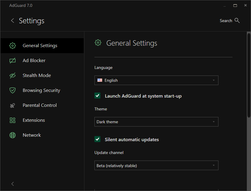 AdGuard 7 0 for Windows: unleashing the filtering power
