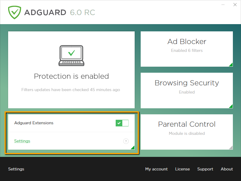 Adguard Extensions