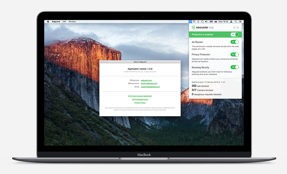 Adguard for Mac 1.2.0