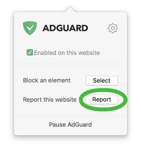 AdGuard Safari extension