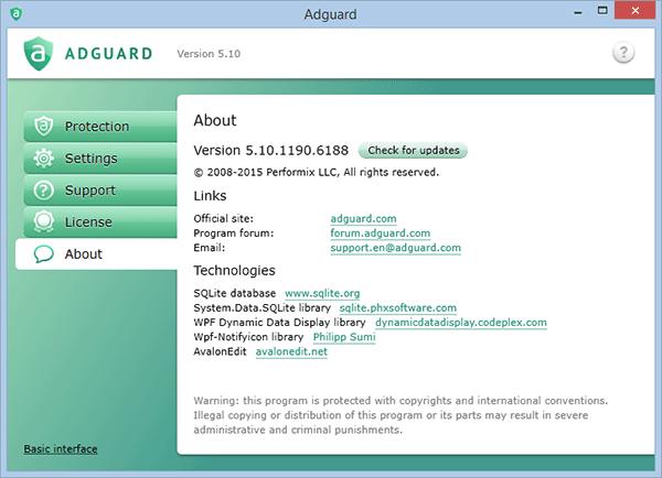 Adguard 5.10.1190