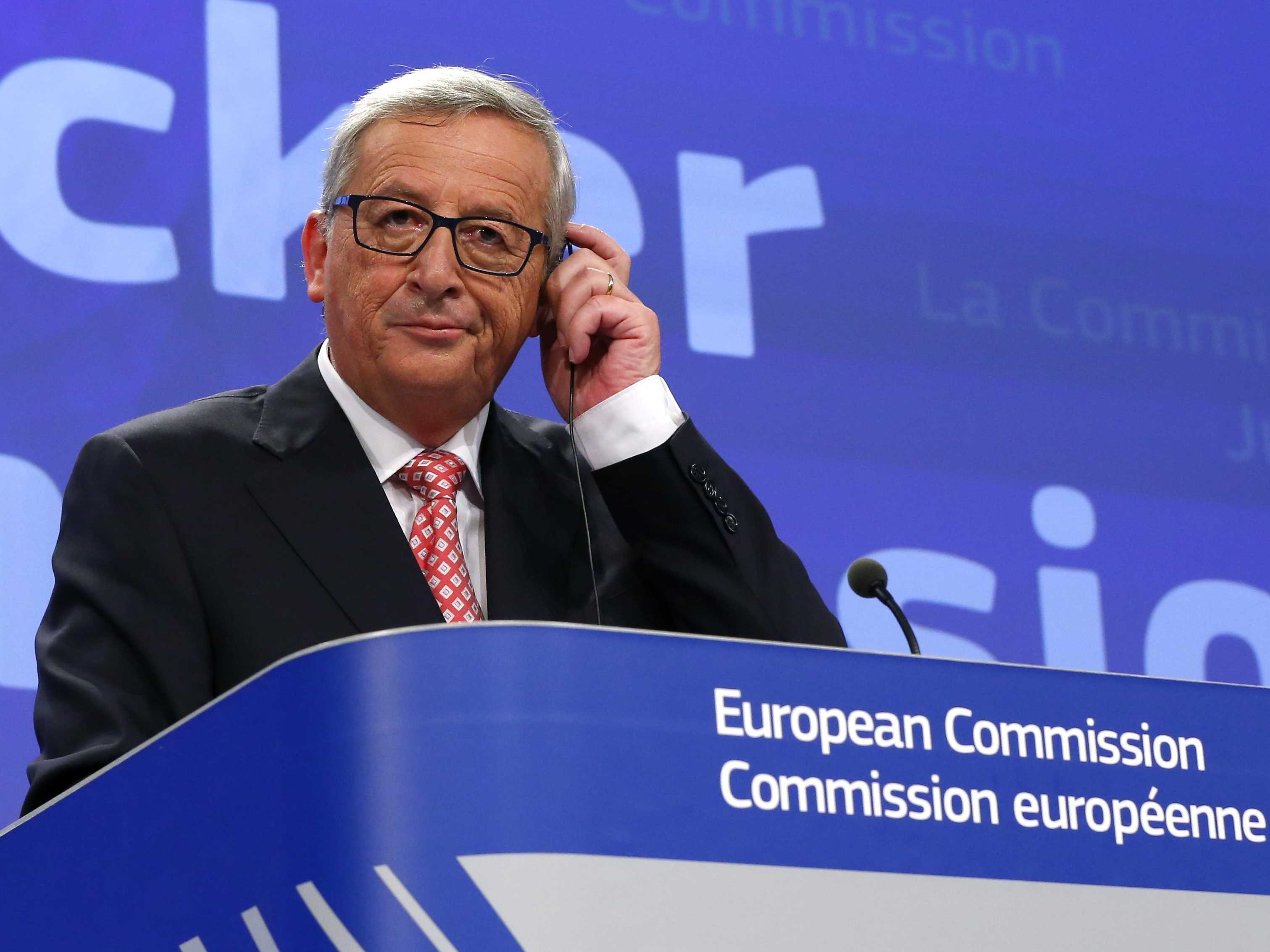 Jean-Claude Juncker, Reuters