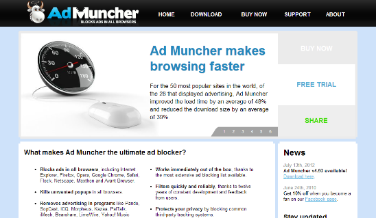 Ad Muncher block pop ups