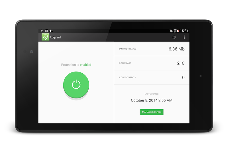 Adguard for Android 1.0