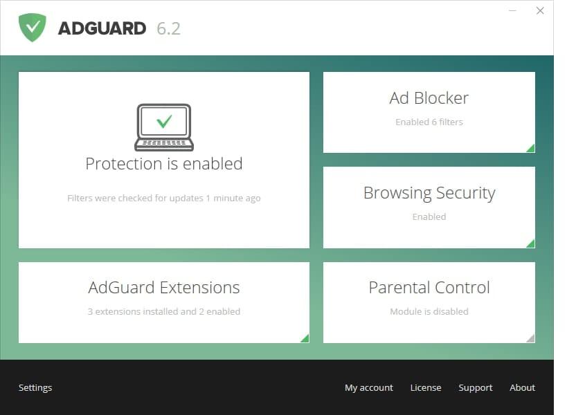 Resultado de imagen de Adguard Premium 6