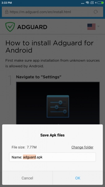 Download AdGuard adblock
