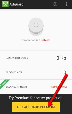 adguard premium license key android